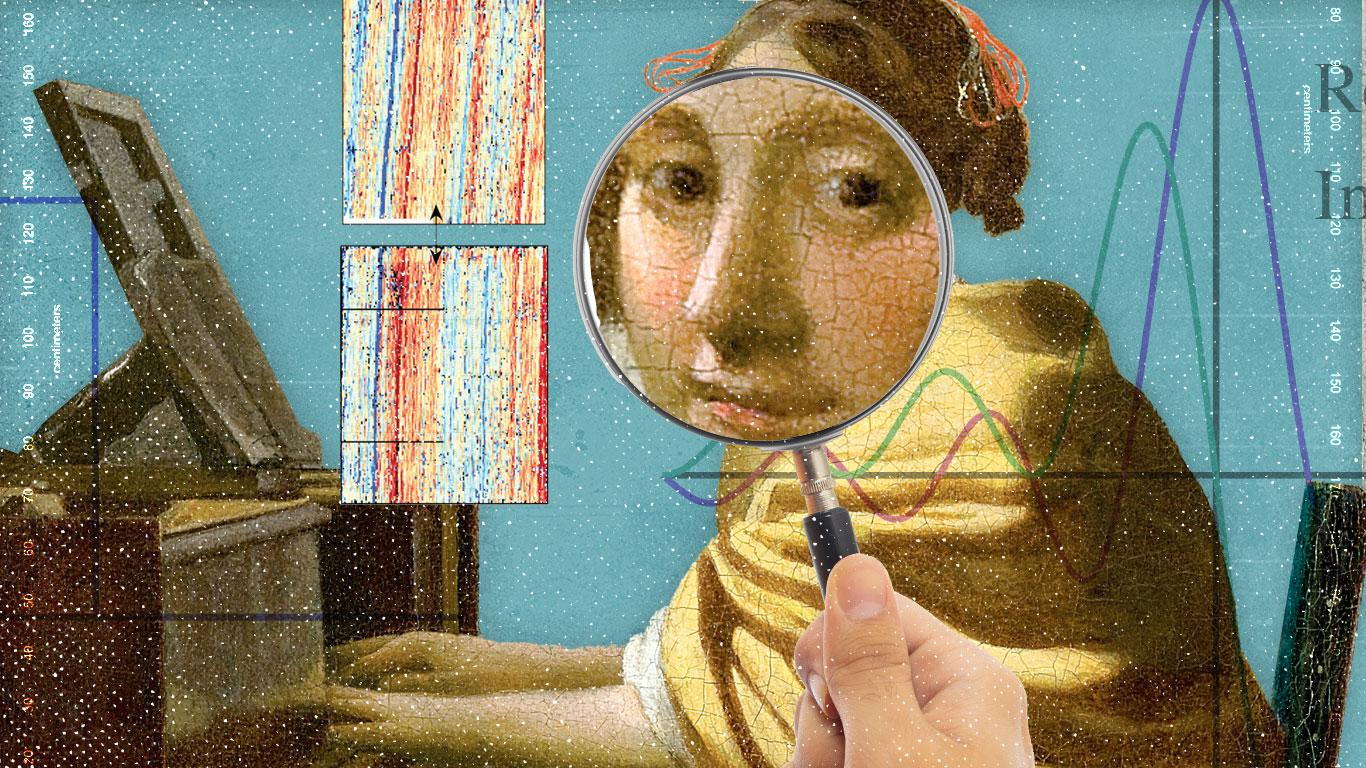 A conceptual illustration of computational art history.