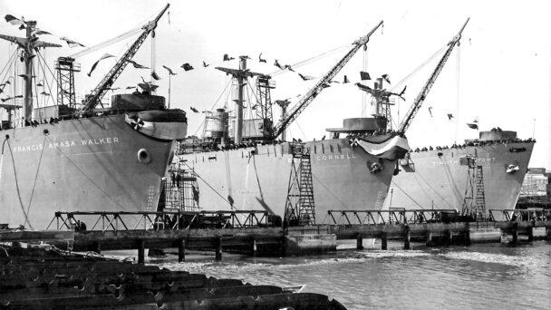 Anchors Aweigh: Big Red Names Graced WWII-Era Hulls