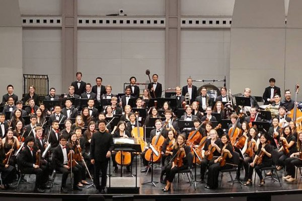 Members of the Cornell Symphony Orchestra