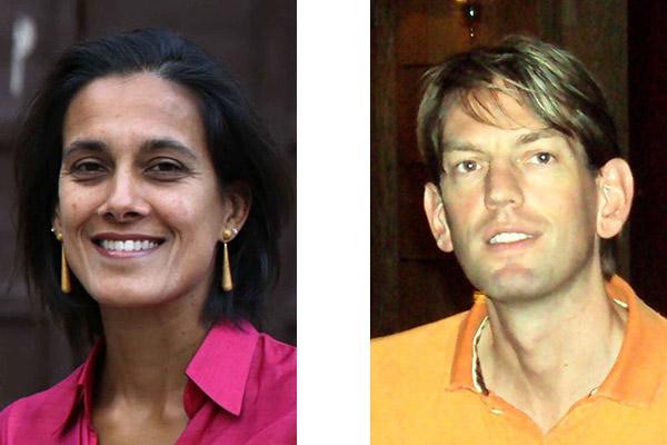 Liv Gussing Burgess '91 and Jeff Kabel MBA '97