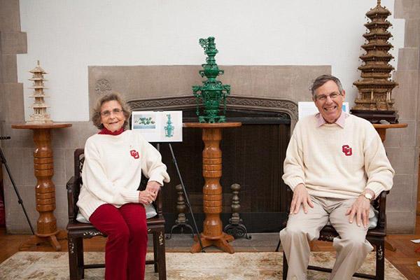 Marshall and Rosanna Frank '61