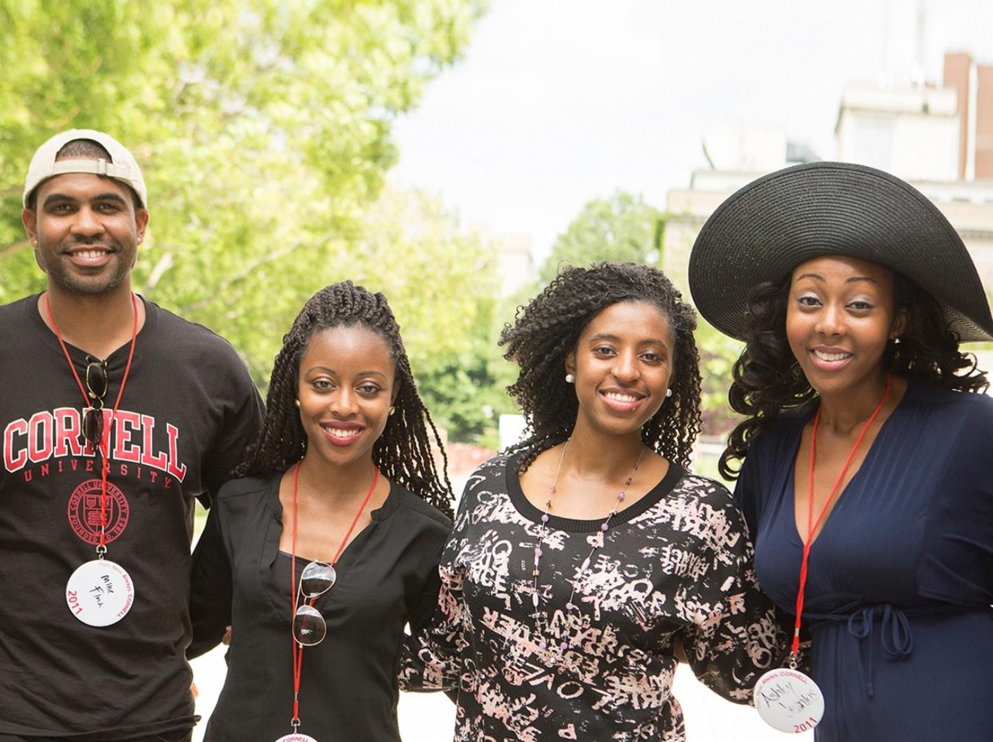 2016 Reunion. Alumni on campus.