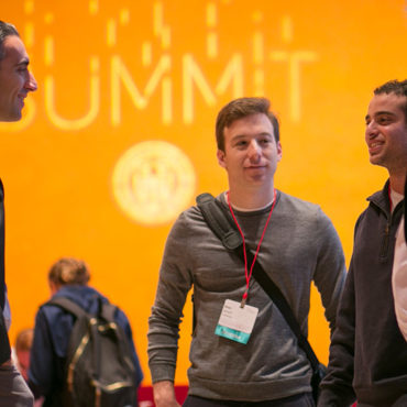 Graduate students at the 2016 Cornell Entrepreneurship Summit.