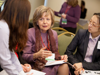 The Women's Power Lunch (WPL) at the 2013 Annual Meeting of the President's Council of Cornell Women (PCCW).