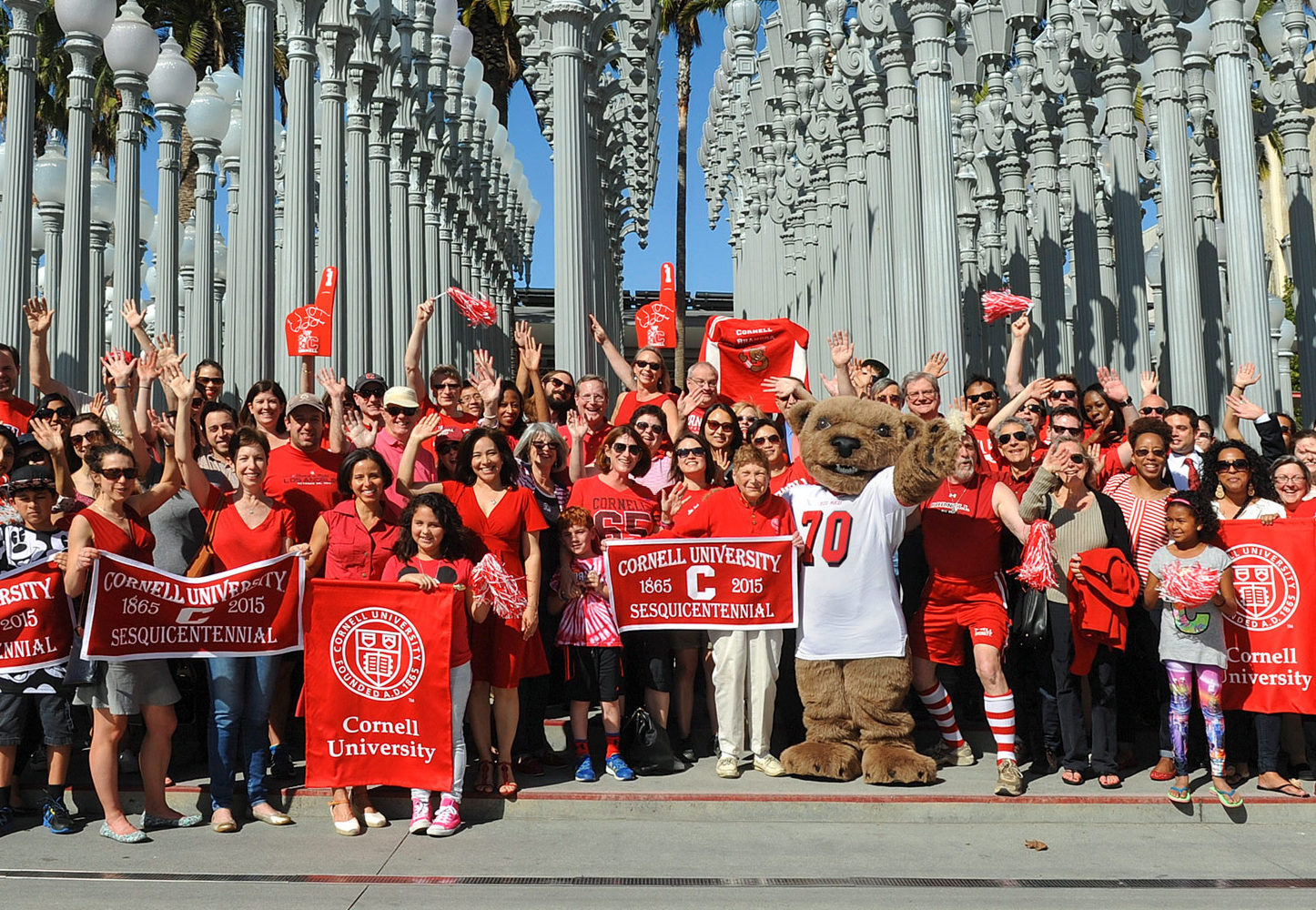 Cornellians gather in Los Angeles for the Cornell Sesquicentennial Tour