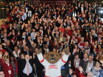 Group photo at the 2015 Cornell Alumni Leadership Conference (CALC).