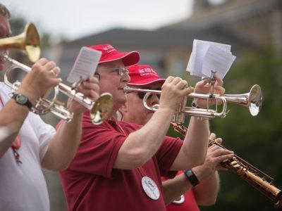 An alumni band