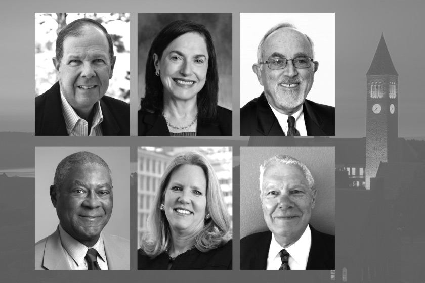 Recipients of the 2017 Frank H. T. Rhodes Exemplary Alumni Service Awards
