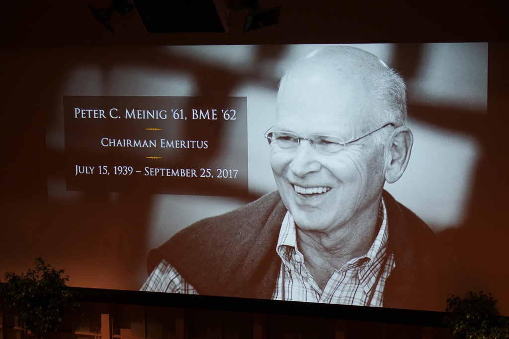 A Peter Meinig tribute at TCAM 2017
