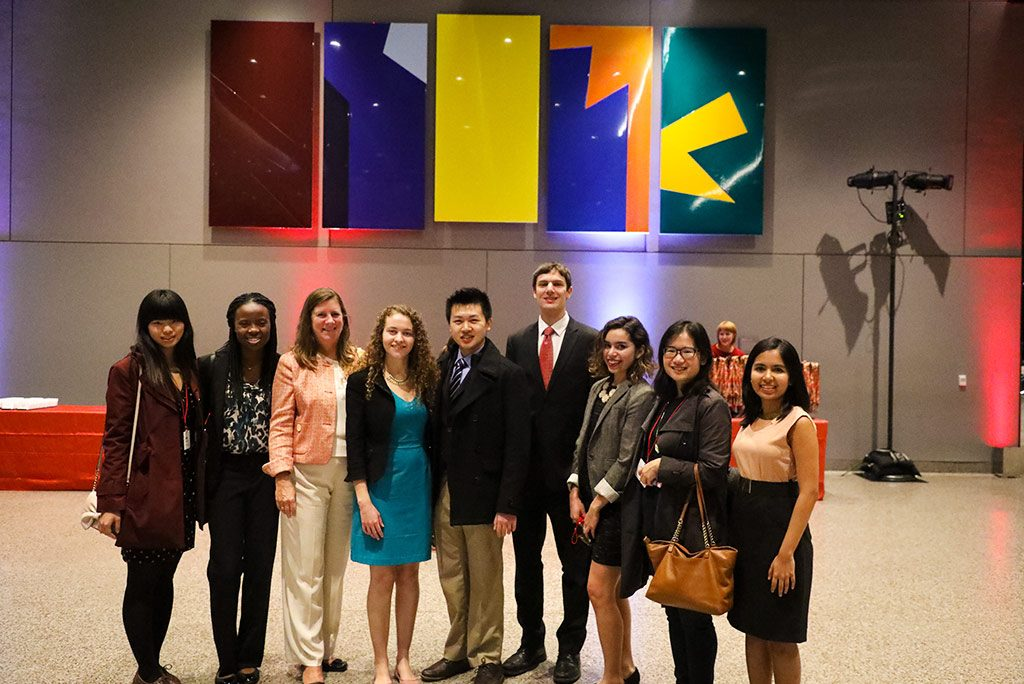 Students from the Cornell in Washington program