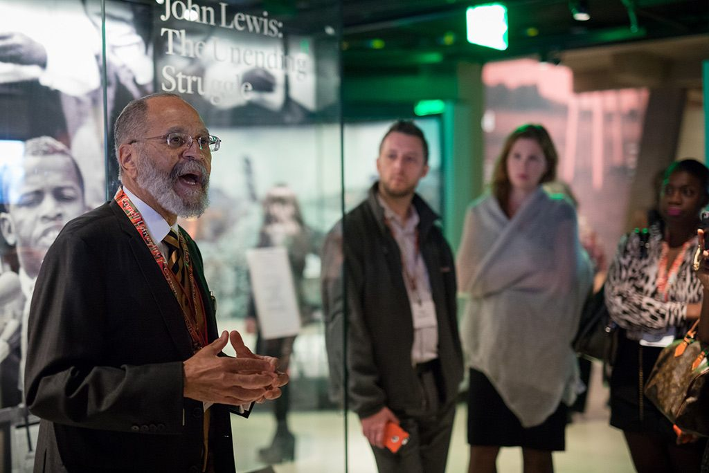 Robert L. Harris Jr. at the NMAAHC