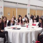 Students at healthcare leadership symposium