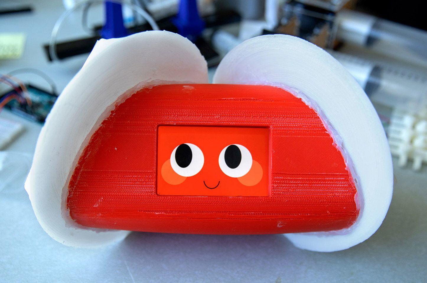 Human-Robot Collaboration and Companionship Lab's interactive robot