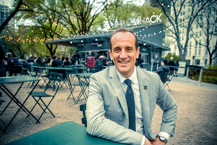 Randy Garutti '97, CEO of Shake Shack..
