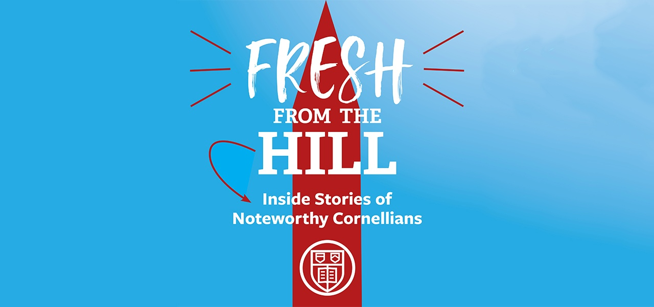 Fresh from the Hill podcast logo