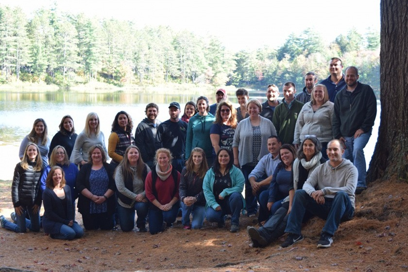 A recent LEAD NY class at a field trip to the Adirondacks.
