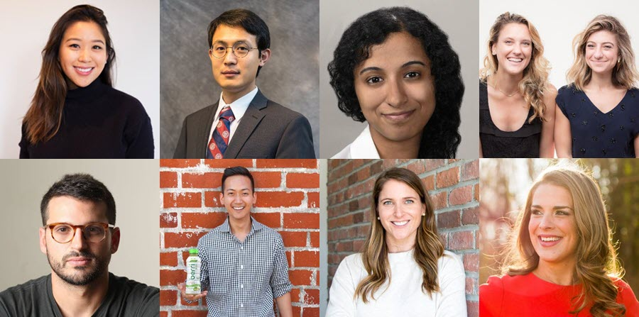 Some of the Cornell entrepreneurs on the 2019 30 Under 30 lists