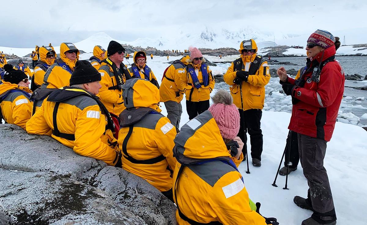 Alumni in Antarctica