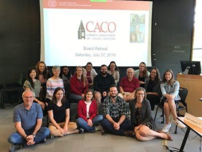 The CACO board during their summer retreat in 2019