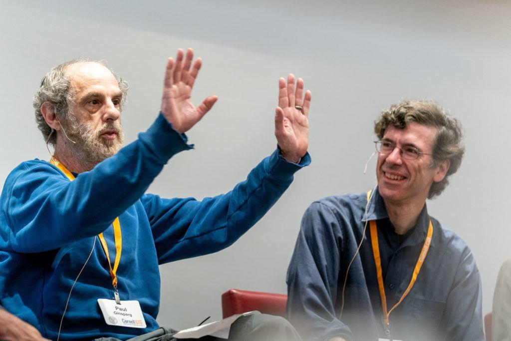 Paul Ginsparg and Jon Kleinberg Photo Credit: Dave Burbank