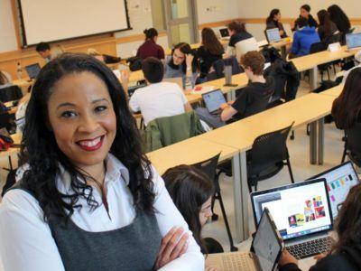 Tasha Lewis, Ph.D. '09, associate professor of fiber science and apparel design