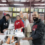 Cornell Club of Mid-America volunteers packaged diapers for hospitals and neighbors in need.