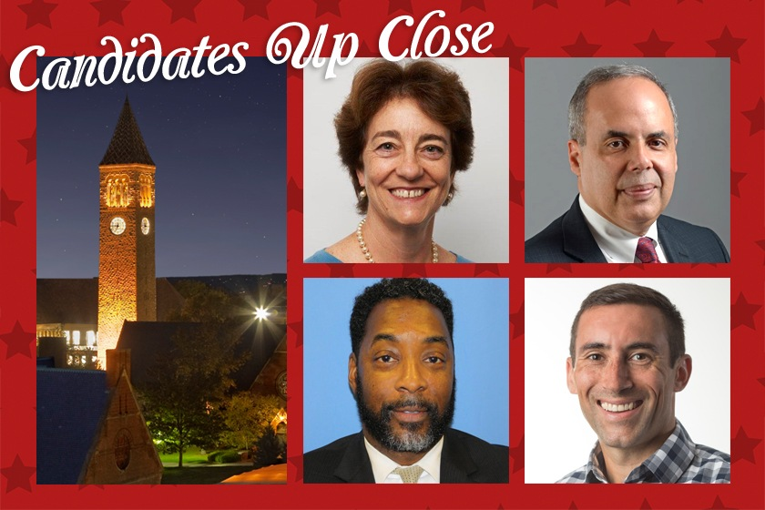 Candidates Up Close, Beth Anderson, Ariel E. Belen, E. Eric Elmore, and Doug Mitarotonda
