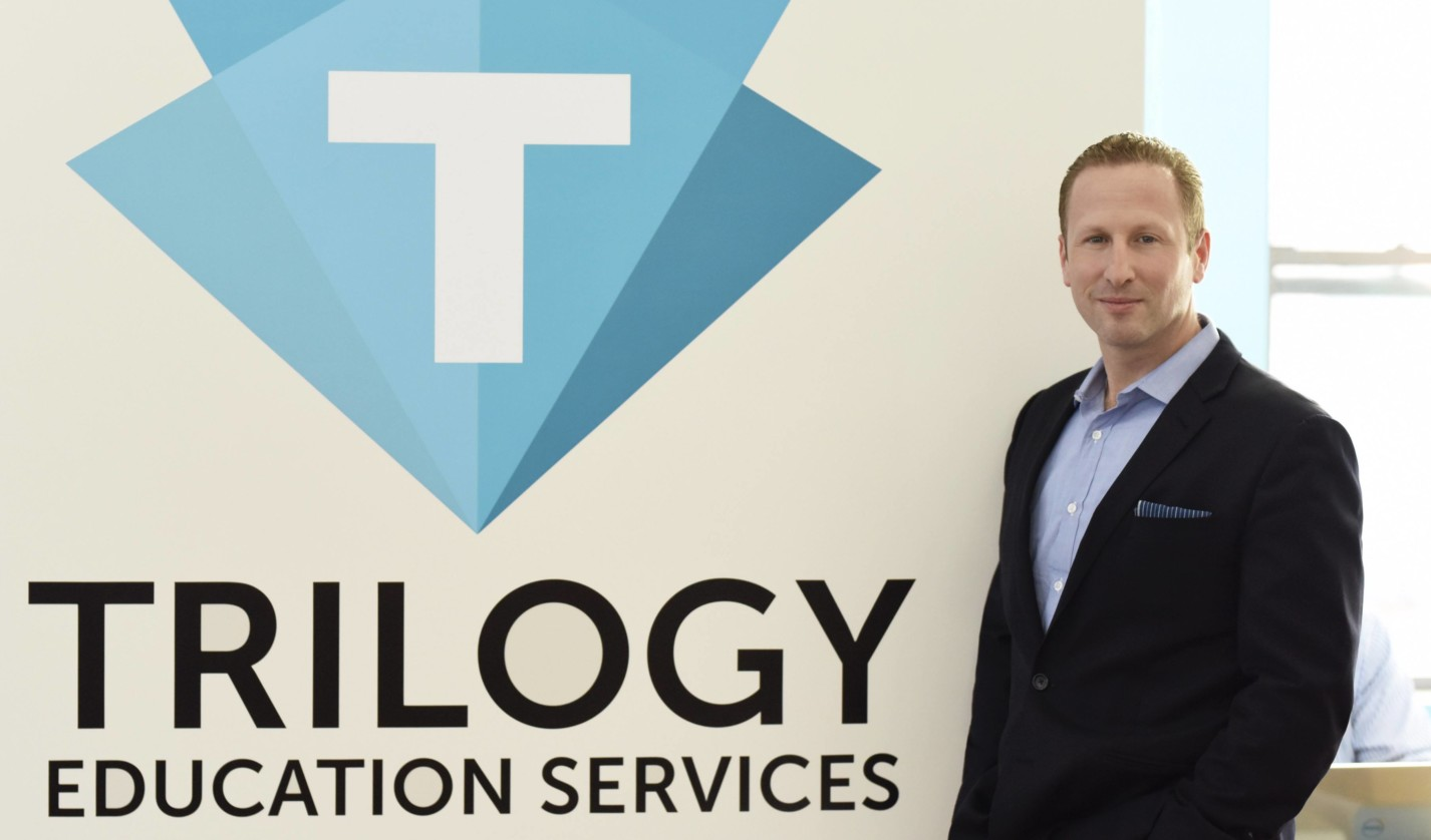 College of Agriculture and Life Sciences alumnus Dan Sommer '97 is the founder of workforce accelerator Trilogy Education.