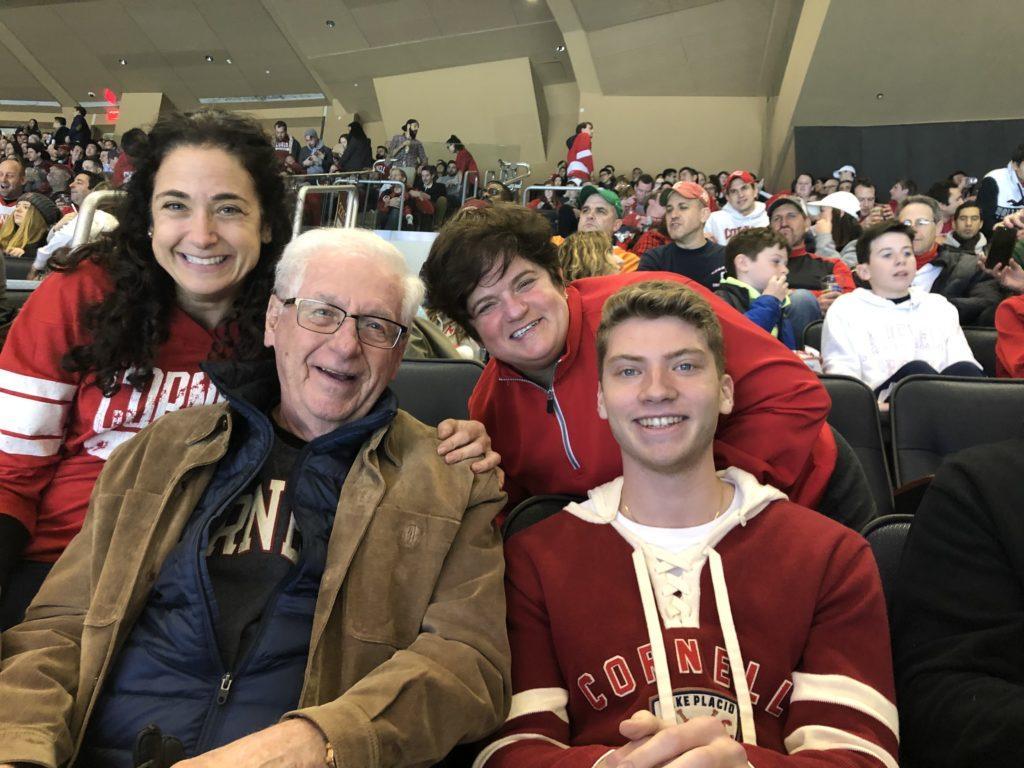 Three generations of Cornellians