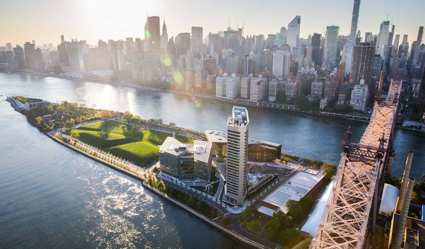 Cornell Tech Campus on Roosevelt Island