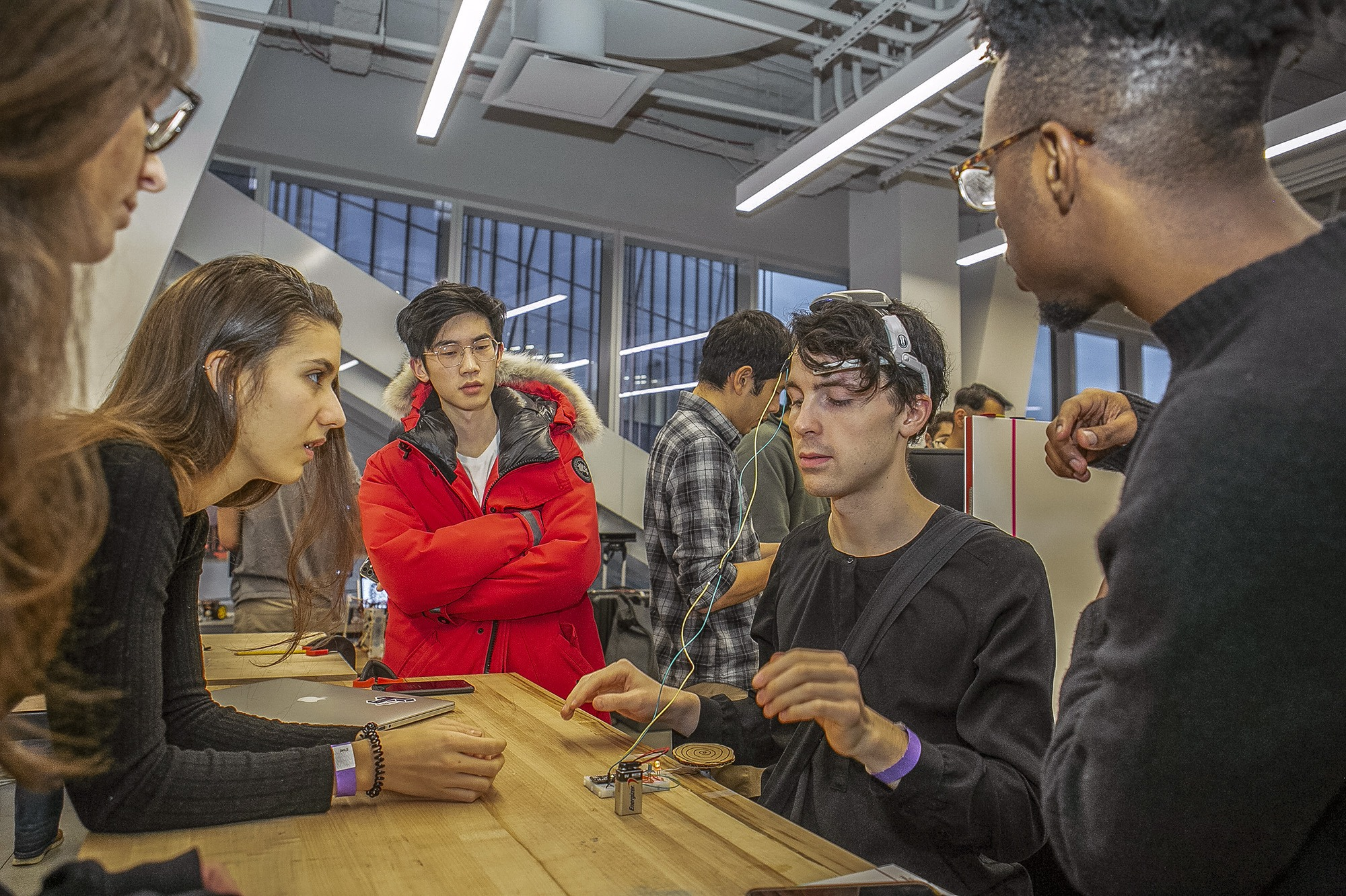 Cornell Tech students and faculty co-create with industry partners and user communities to design technologies with direct impact.