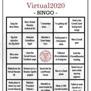 Reunion bingo card