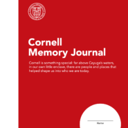 Cover of Cornell memory journal