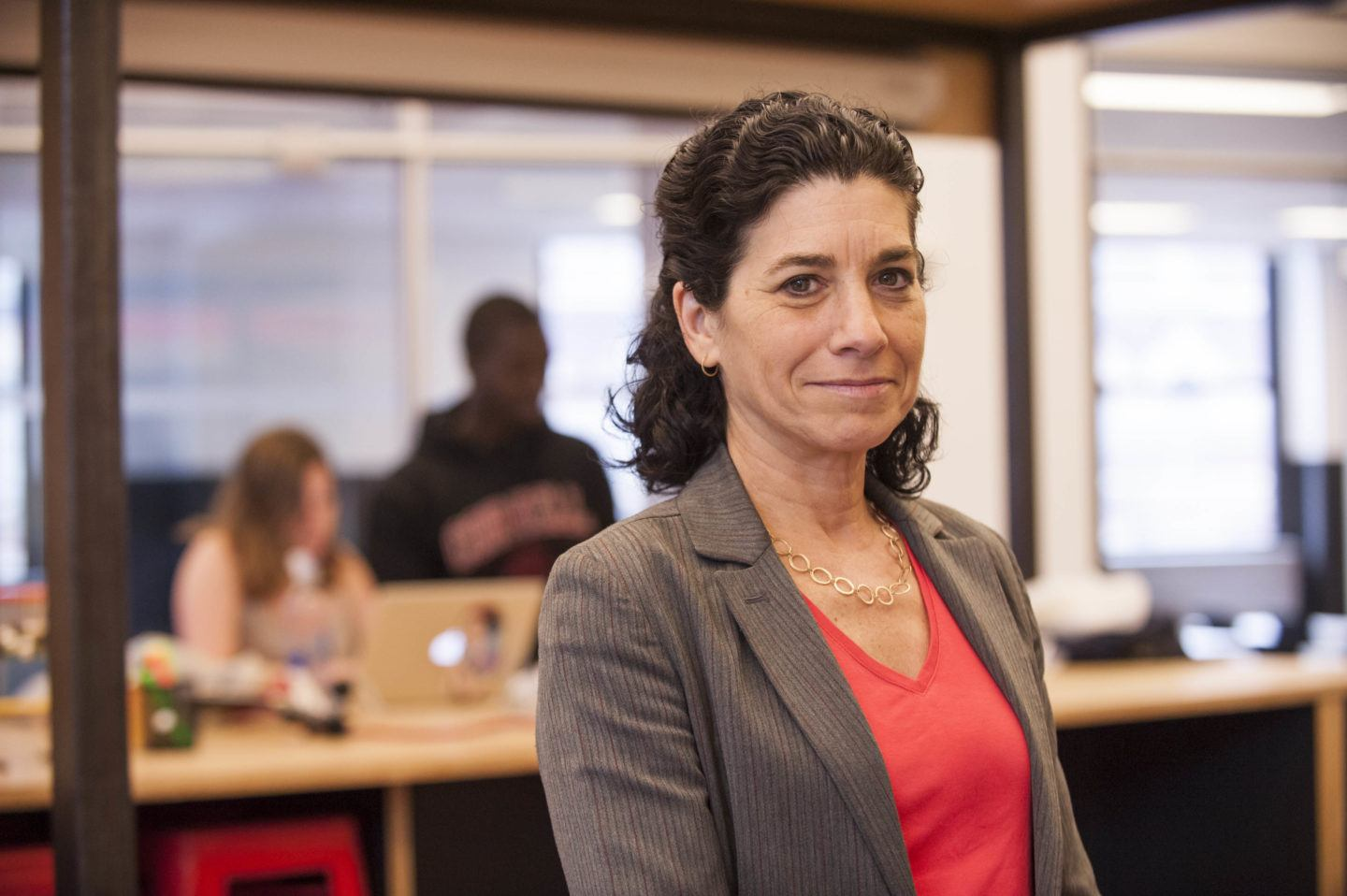 Deborah Estrin, associate dean for impact and Robert V. Tishman '37 Professor at Cornell Tech