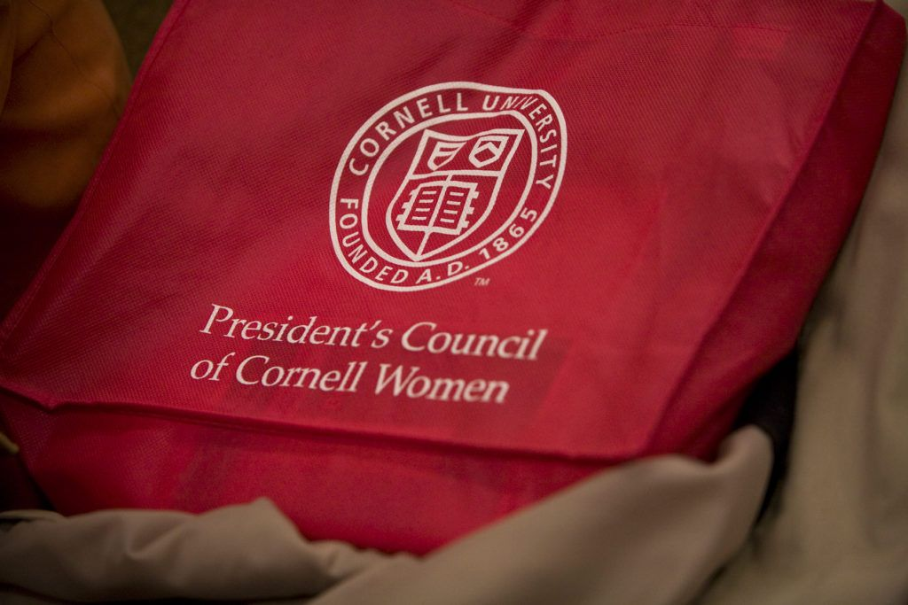 President's Council of Cornell Women bag