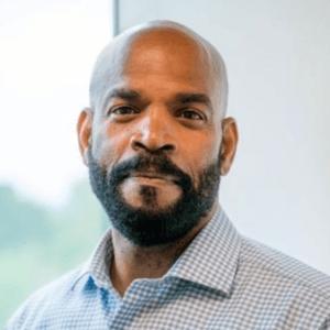 Reginald White '90, senior director of HR Strategy at Cornell
