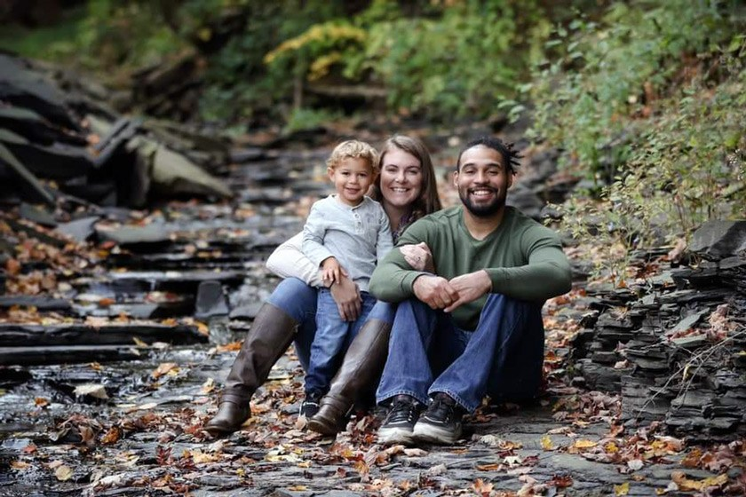 When he's not working at Cornell Wellness, Jeremy Stewart loves spending time with his wife McKenna and his son Zaidyn.