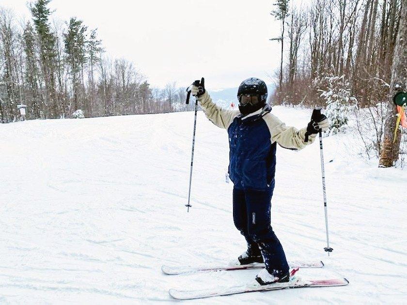 """""""Yay, it's finally ski and sledding and hot cocoa season!"""" says Keri Johnson."""
