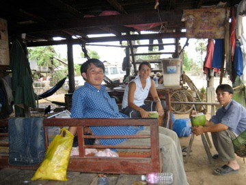 Dr. Van Kerkhove on a WHO H5N1 research mission in Cambodia