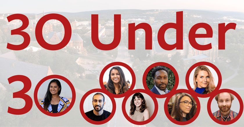 2021 Cornell Forbes 30 Under 30 cohort