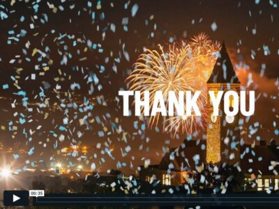 Cornell Giving Day 2021 thank you video