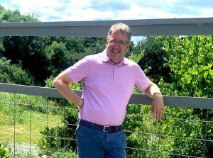 AAD vice president Fred Van Sickle is an avid gardener.
