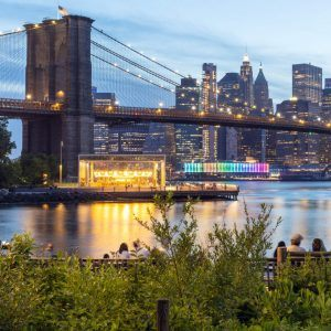 View from the Brooklyn Bridge Park