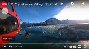 "screenshot of ""Greenland Melting"""