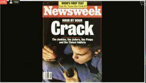 "screenshot of Newsweek ""Hour by Hour: Crack"" cover"