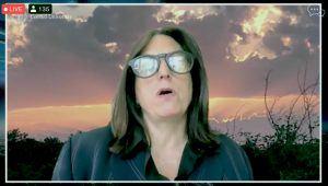 screenshot of Nonny de la Peña, founder of Emblematic Group