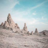 Death Valley rock structures