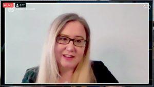 Screenshot of Christine Hogan