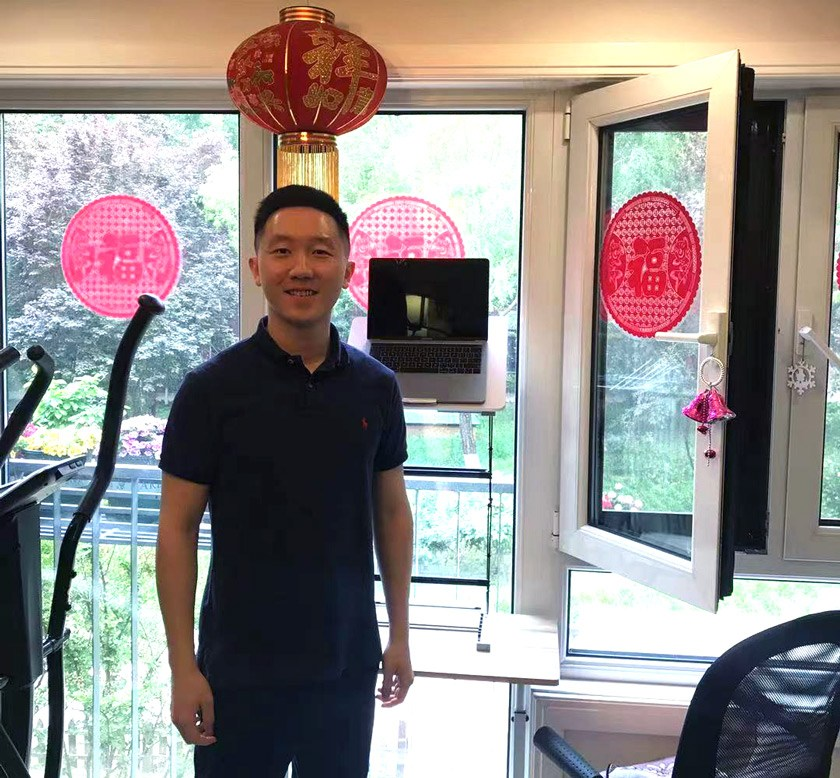 Yifan at his home in Beijing