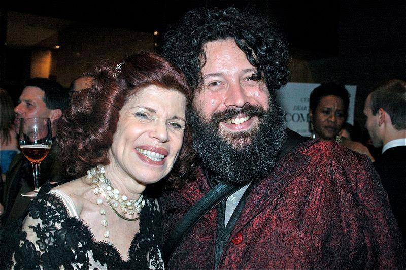 """""""I love going to performance events and social gatherings with my wonderful son David Slone '91, JD '94,"""" says Bobbie Horowitz '61."""